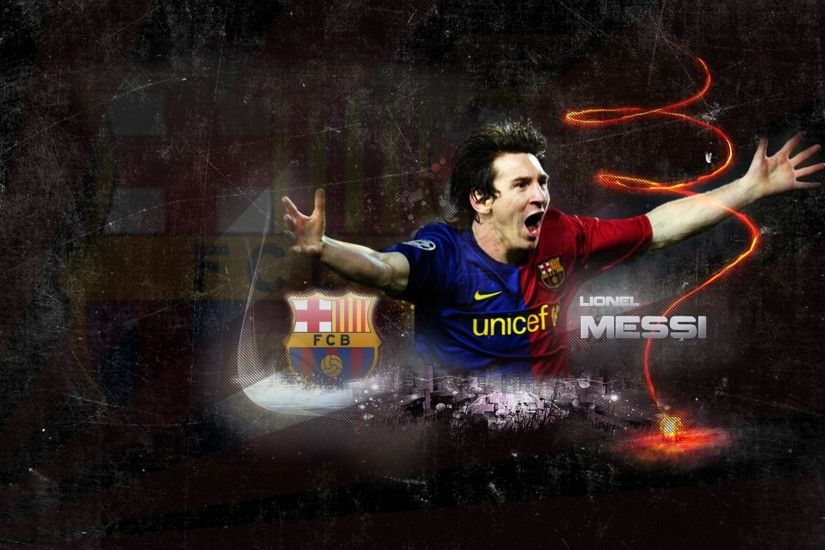 Full HD Lionel Messi 1920x1080 Wallpaper.
