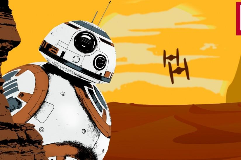 ... IndividualDesign Star Wars BB-8 - Wallpaper by IndividualDesign