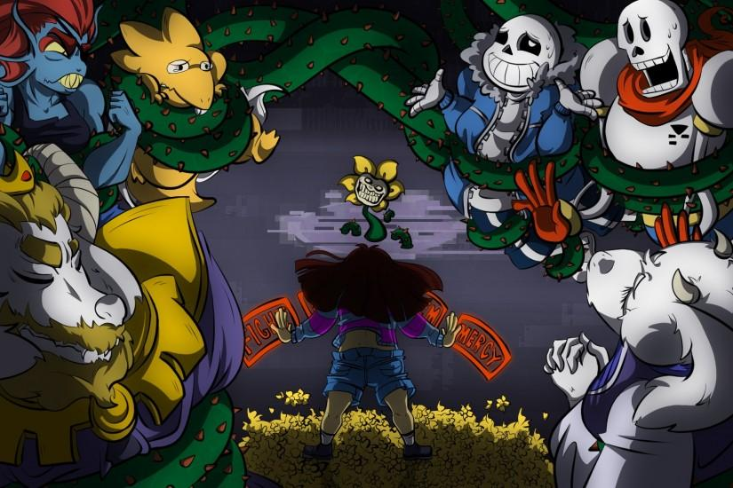 beautiful undertale desktop background 1920x1080 for iphone 5