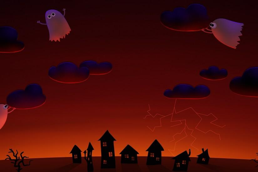 halloween background 3840x1200 hd for mobile