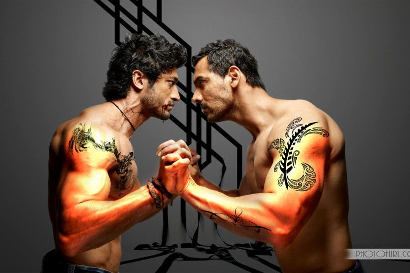 John Abraham Body Building Wallpaper