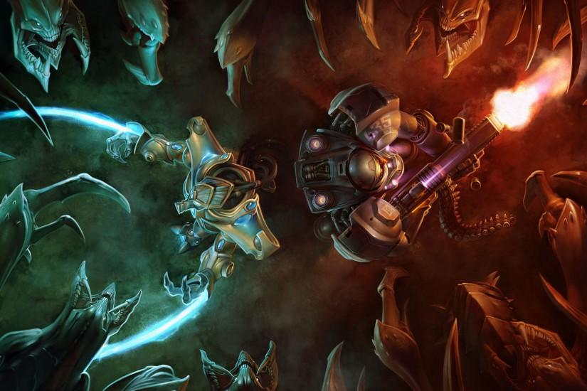 top starcraft wallpaper 1920x1200 for samsung