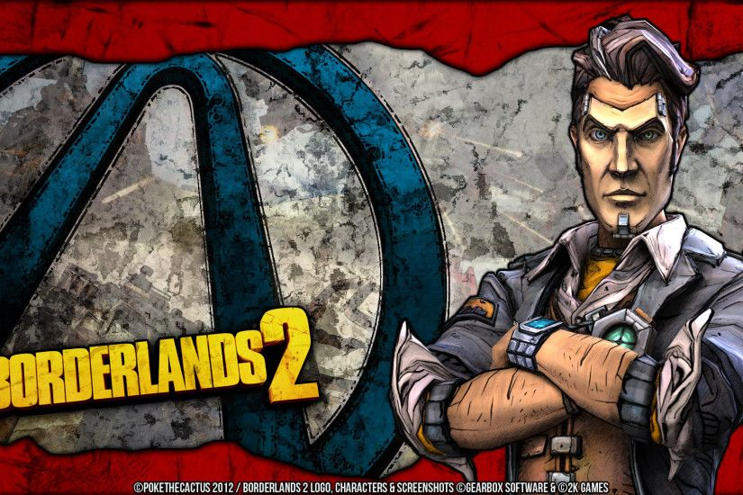 ... Handsome Jack - Wallpaper by PokeTheCactus