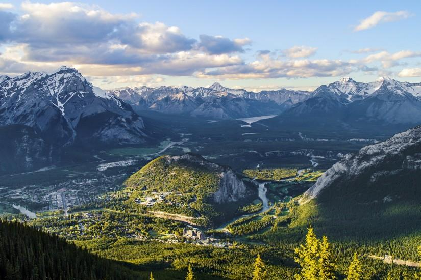 Sulphur Mountain Canada 4K Ultra HD