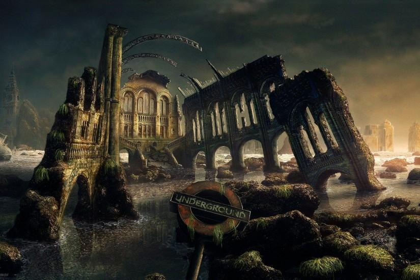 Gothic / Dark Art: Fantasy Art Scenery, desktop wallpaper nr. 47799