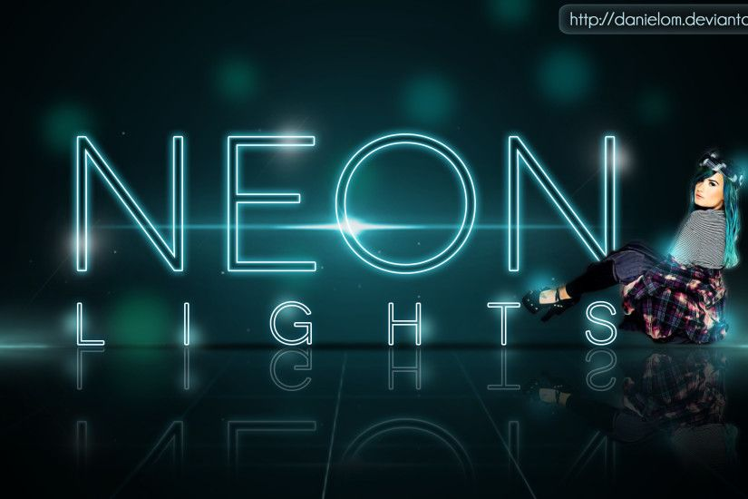 Neon Lights |PS| By:Danielom by Danielom