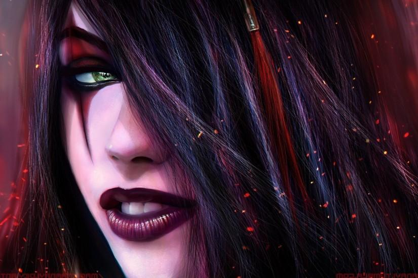 League Of Legends, Video Games, Katarina, MagicnaAnavi, DeviantArt Wallpaper  HD
