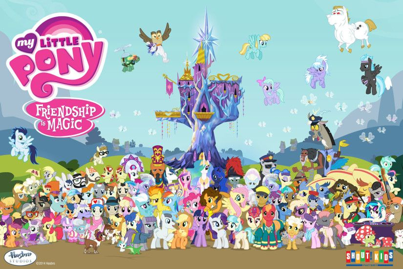 Free My Little Pony desktop wallpaper!
