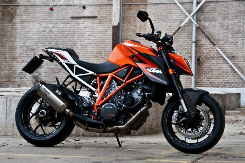 KTM Bike Stunt HD Wallpaper 2016