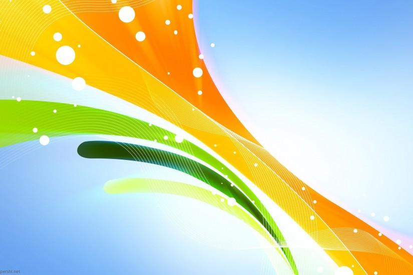 abstract lines green orange yellow PowerPoint background. Available in  1920x1200, this PowerPoint template is