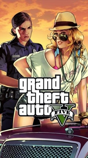 Click here to download 1080x1920 pixel GTA 5 Woman Cop Frisk Me Android  Best Wallpaper