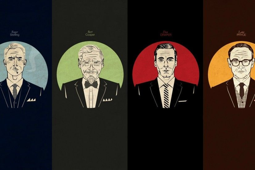 Mad Men characters wallpaper