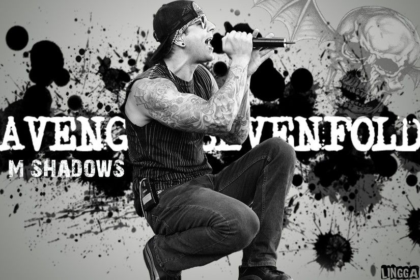 M Shadows From Avenged Sevenfold Wallpaper By Brunoluizdepaula On