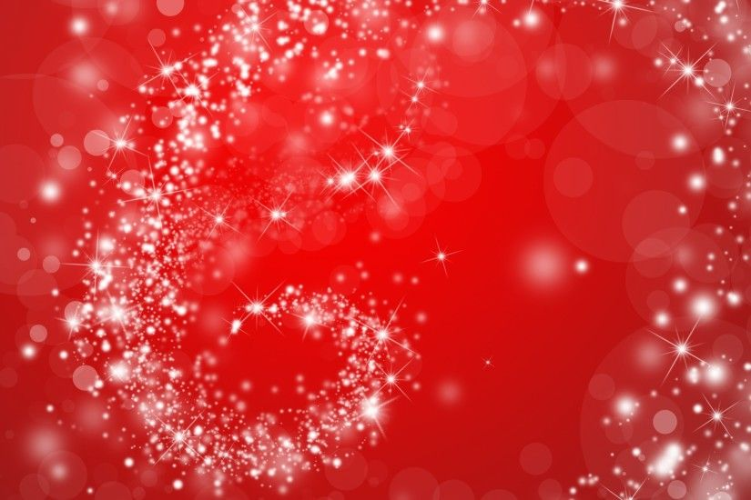 Red Sparkly Swirl Background