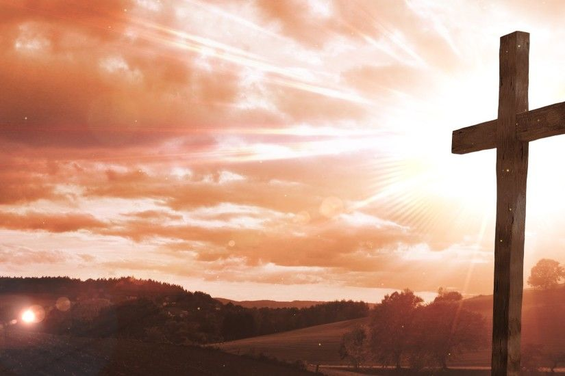 Easter Cross - Worship Background Loop - Motion Graphics - Animation -  YouTube