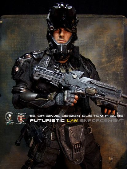 Ghost Recon images 1:6 one sixth scale Original Design Cyborg Futuristic Law  Enforcement Agent by Calvin's Custom @ Cyb HD wallpaper and background  photos