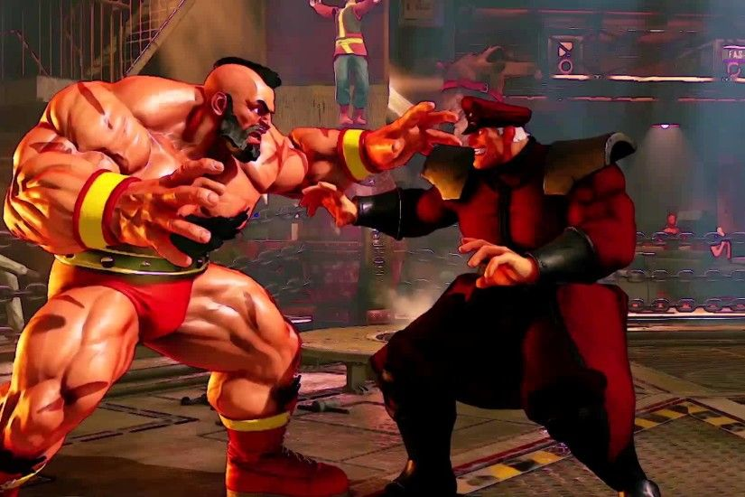 Street Fighter V -- Zangief Reveal