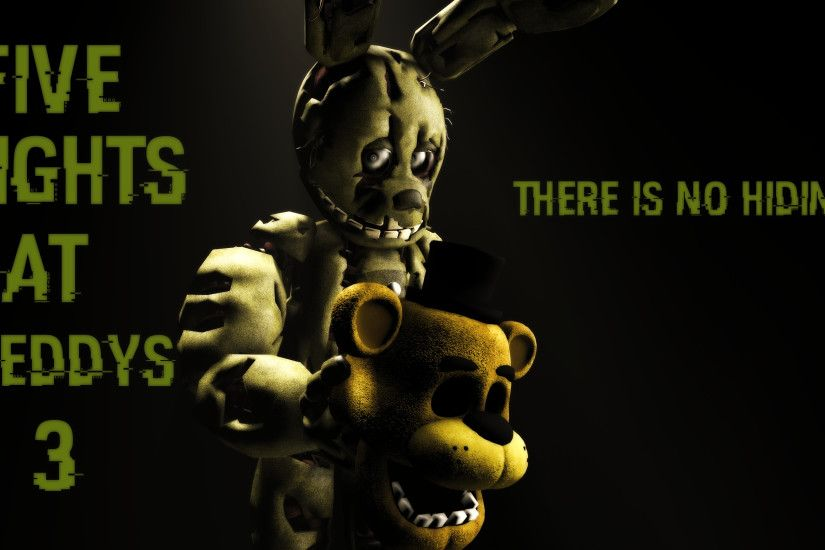 ... Five Nights At Freddy's 3 Wallpaper by boatfullogoats