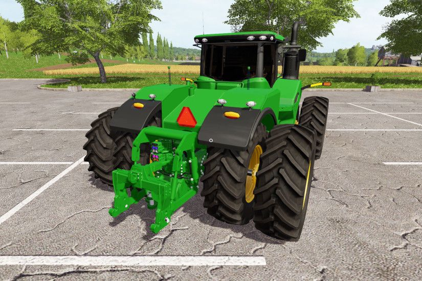 John Deere 9620R for Farming Simulator 2017