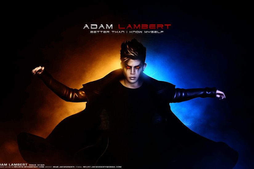 ... Adam Lambert Better Than I Know Myself by belief2