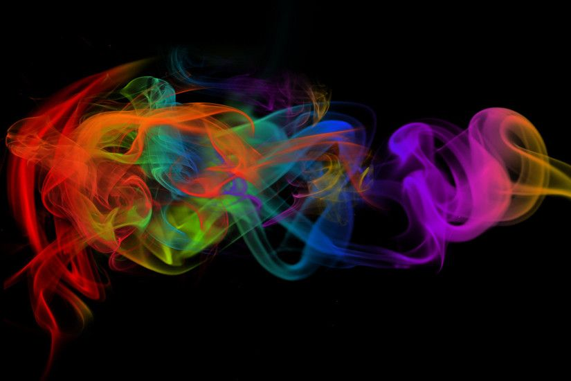Colorful Smoke HD Wallpaper 1920x1080 Colorful ...