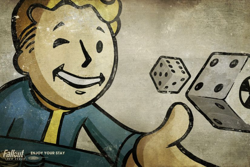 Fallout 3 Wallpaper Vault Boy wallpaper - 366277