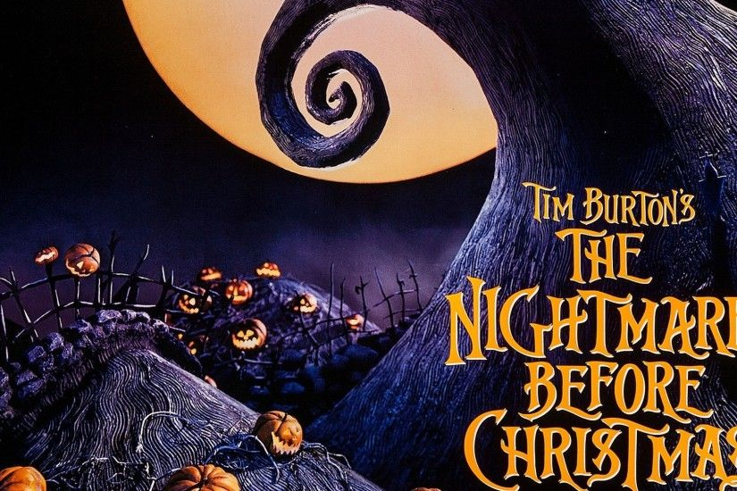 The nightmare before christmas movie posters wallpapers.