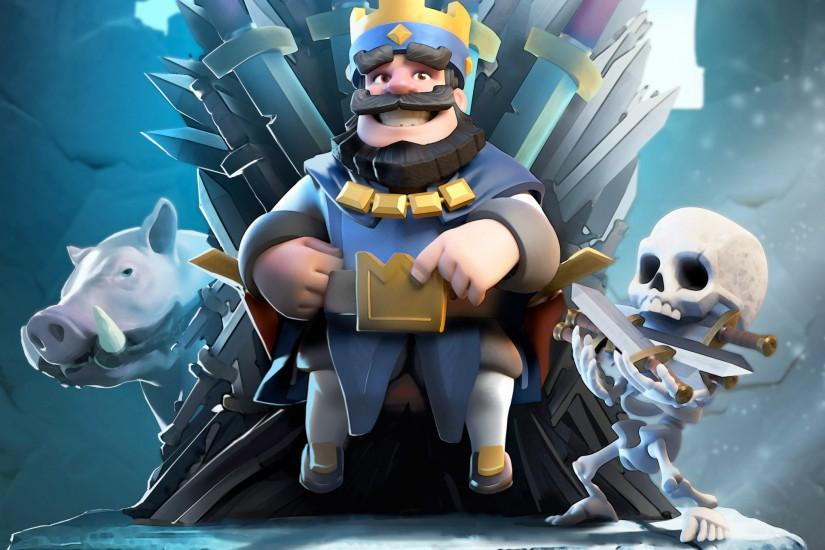 Clash Royale Blue King HD · Clash Royale Blue King HD Wallpaper
