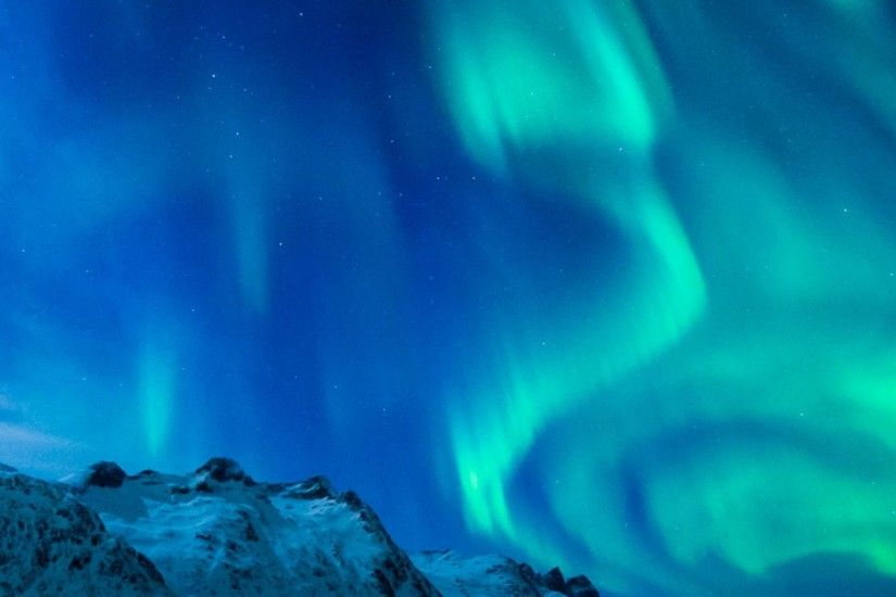 3840x1200 Wallpaper northern lights, aurora borealis, uk, 2015