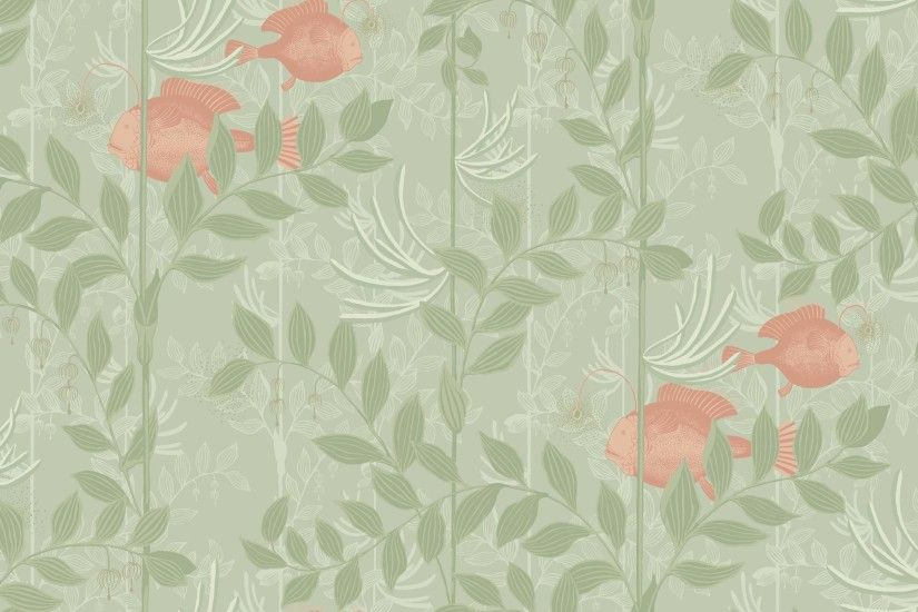 ... Cole & Son Nautilus Wallpaper 103/4020 ...
