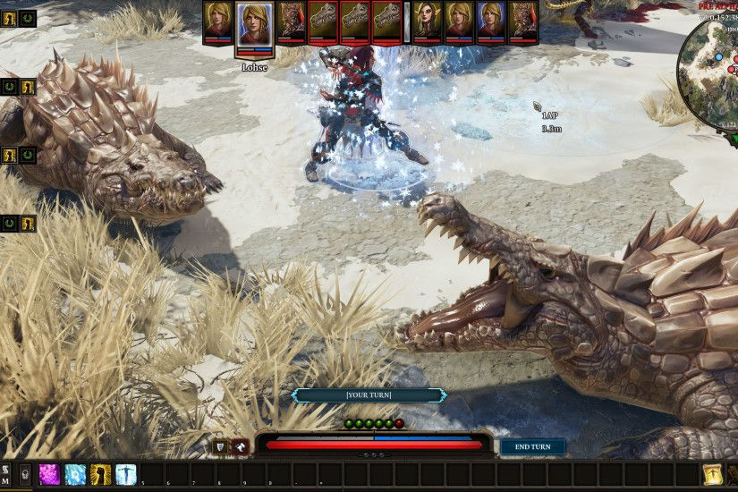 Bigmonsters_002 Limited hands on time with the early build of Divinity: Original  Sin II ...