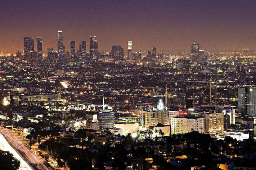 Night Los Angeles. Download