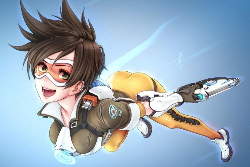 new overwatch tracer wallpaper 1920x1440 for mobile