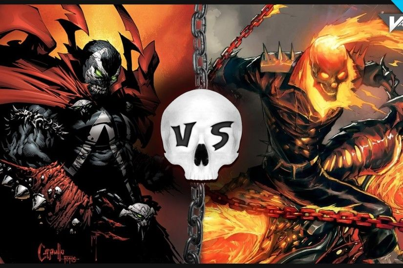 Gallery For > Ghost Rider Vs Spawn
