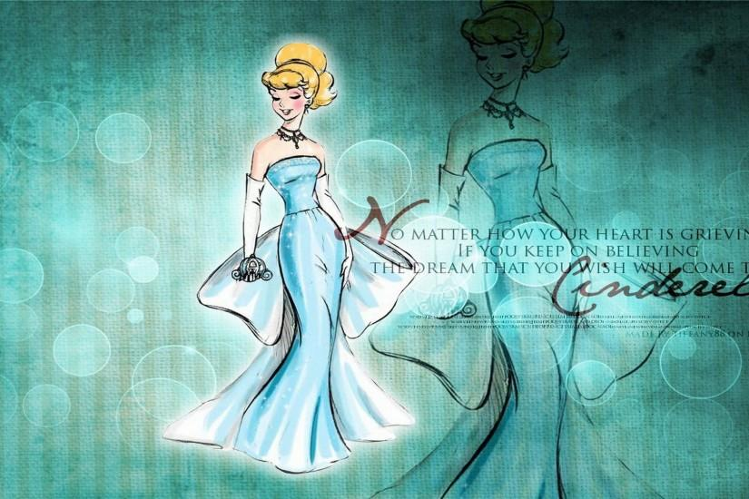 Princess Cinderella HD Wallpaper Walt Disney Princess Cinderella