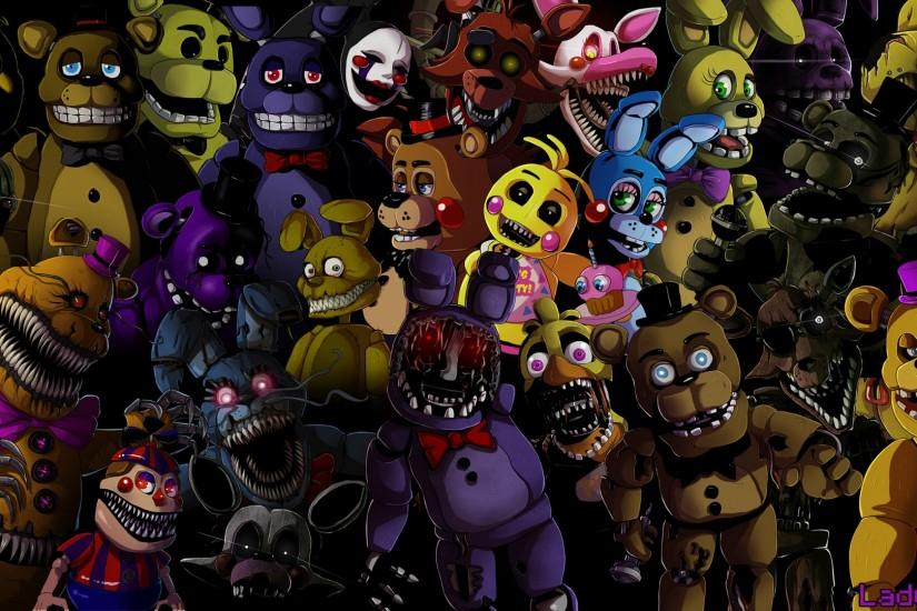beautiful five nights at freddys wallpaper 1920x1080