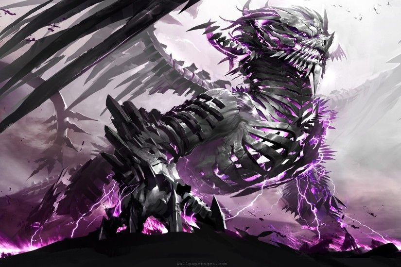 ... Anime Dragon Wallpaper by Olivier Deelay on GoldWallpapers.com ...