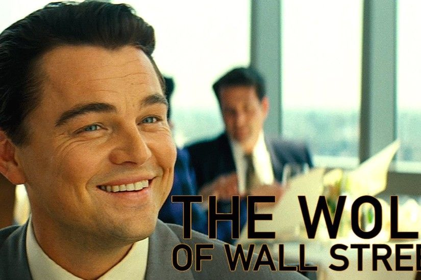 """THE WOLF OF WALL STREET"" 