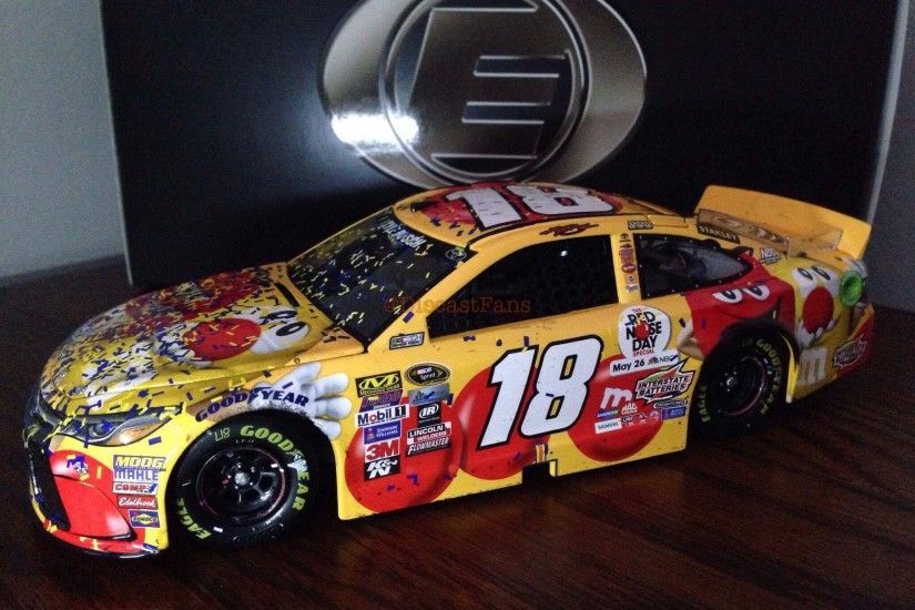 "NASCAR DIECAST FANS on Twitter: ""REVIEW: Kyle Busch 2016 M&Ms Red Nose Day  Kansas win elite! https://t.co/yMc5PjPKVv"""