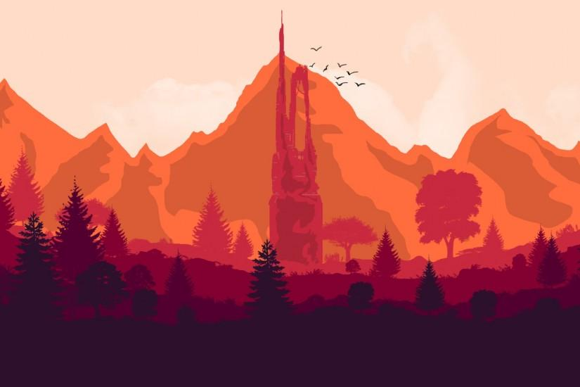 new firewatch wallpaper 1980x1080 for hd 1080p