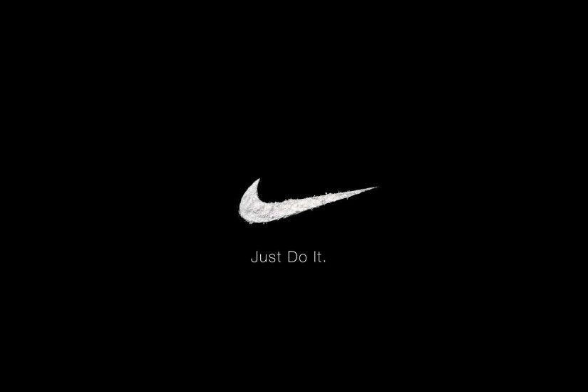 download beautiful hd black nike wallpaper for desktop
