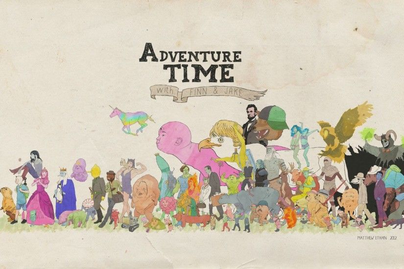 Some Adventure Time! wallpapers