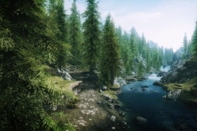 Skyrim Forest wallpaper - 880076