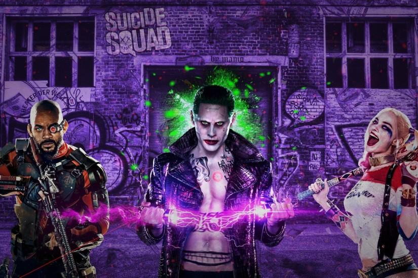 widescreen suicide squad wallpaper 1920x1080 for ipad pro
