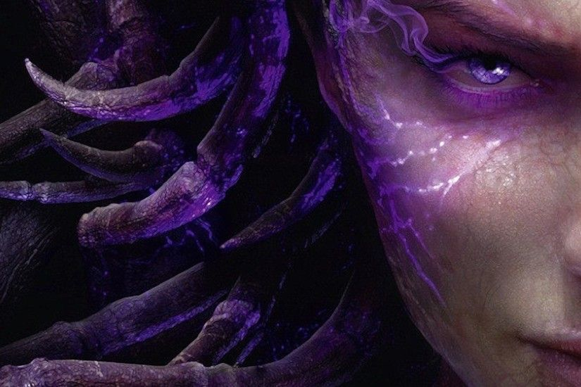 starcraft 2 heart of the swarm wallpaper - Google Search · Sarah KerriganFacial  ...
