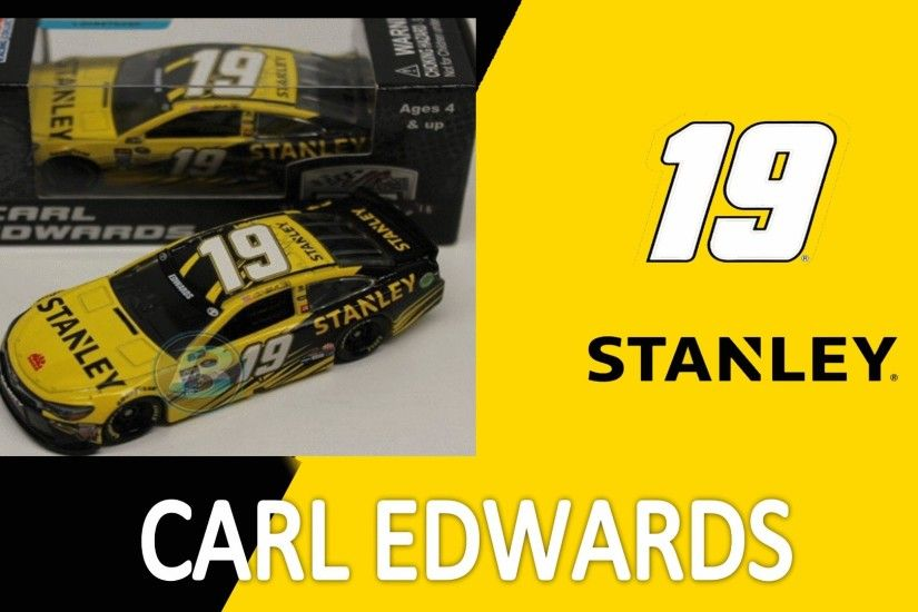 NASCAR DieCast Review Carl Edwards STANLEY Tools 2016 1:64