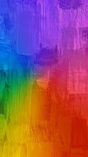 colors.quenalbertini: Painting Rainbow iPhone 6S Wallpaper