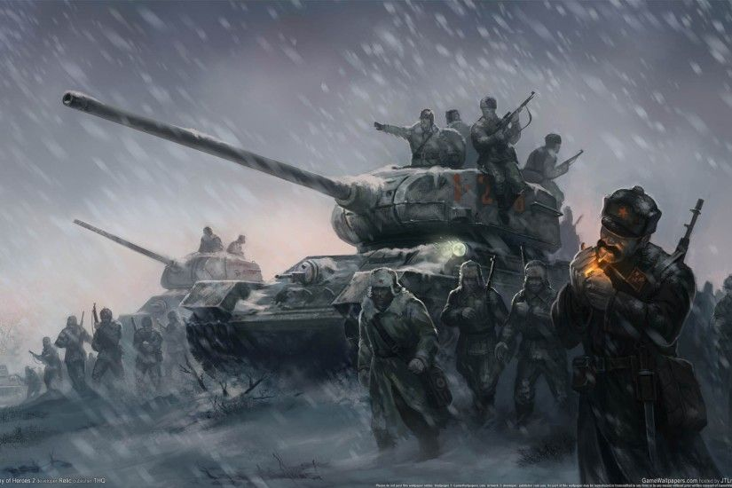 artwork, World War II, Soviet Army, Tank, Cigarettes, Winter HD Wallpapers  / Desktop and Mobile Images & Photos