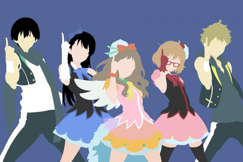 ... Kyoukai no Kanata Minimalist Wallpaper by zaimsidqi
