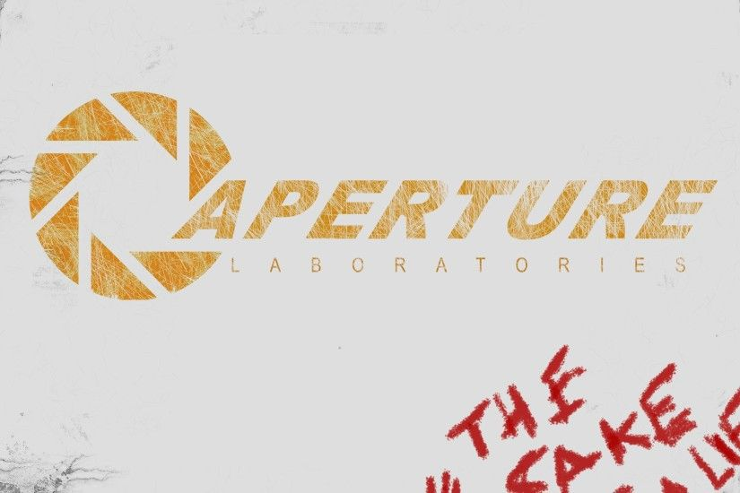 Aperture Science Wallpaper